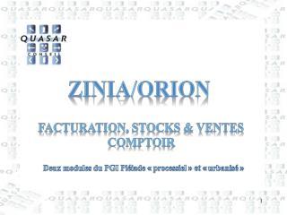 zinia /Orion