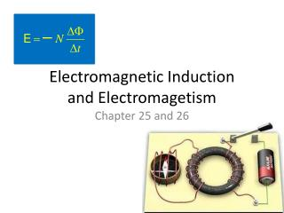 Electromagnetic Induction and Electromagetism