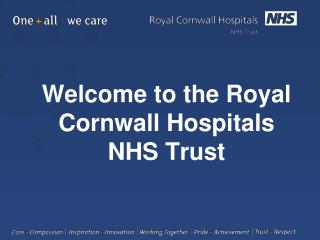 Welcome to the Royal Cornwall Hospitals  NHS Trust