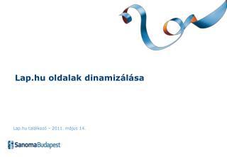 Lap.hu oldalak dinamizálása