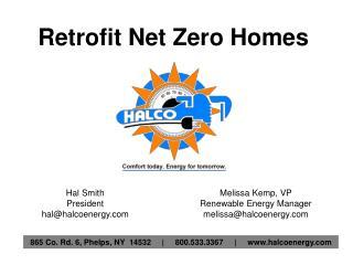 Retrofit Net Zero Homes