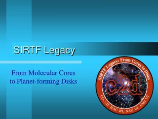 SIRTF Legacy