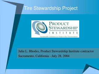 Tire Stewardship Project