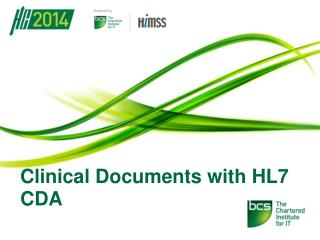 Clinical Documents with HL7 CDA