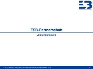 ESB-Partnerschaft