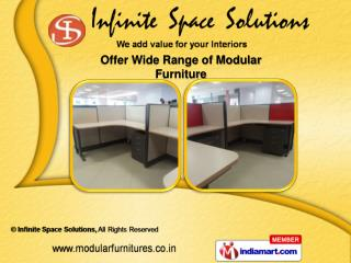 Modular Office Furnitures  &  Modular Office Furniture