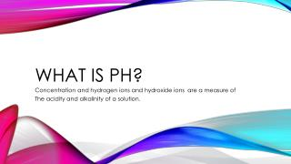 What is pH?