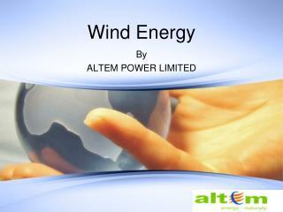 Slide 1 - Wind Generators  Wind Turbine Generators Manufacturers ...