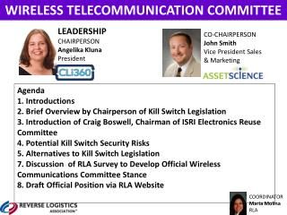 WIRELESS  TELECOMMUNICATION  COMMITTEE
