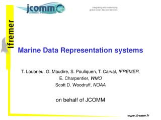 Marine Data Representation systems