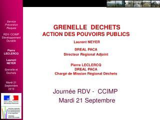 Journée RDV -  CCIMP    Mardi 21 Septembre