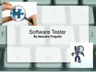 Software Tester  By:Nelusha Polgolla