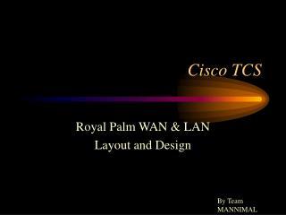 Cisco TCS