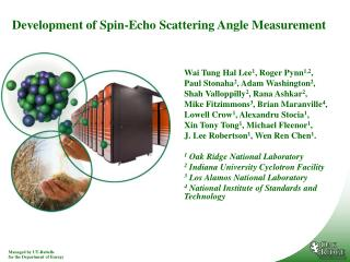 Development of Spin-Echo Scattering Angle Measurement