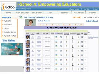 i-School.4: Empowering Educators