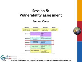 Session 5:  Vulnerability assessment