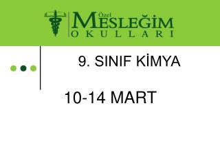 9. SINIF KİMYA