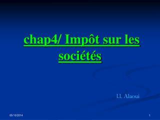 chap4/ Impôt sur les sociétés