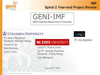 IMF Spiral 2 Year-end Project Review