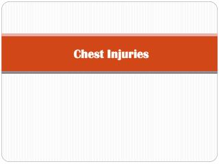 Chest  Injuries