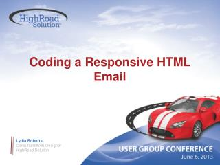 Coding a Responsive HTML Email