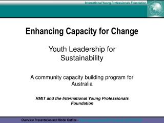 Enhancing Capacity for Change