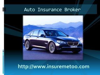 Auto insurance broker Canada
