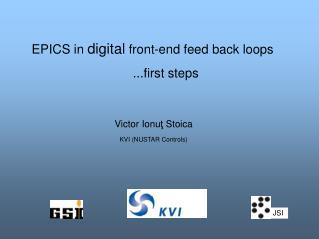 Victor Ionu ţ  Stoica KVI (NUSTAR Controls)