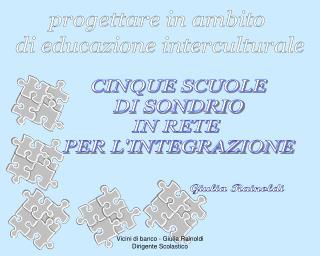 progettare in ambito  di educazione interculturale