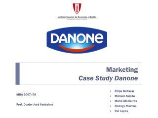 Marketing Case Study Danone