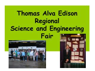 Thomas Alva Edison Regional Science and Engineering Fair