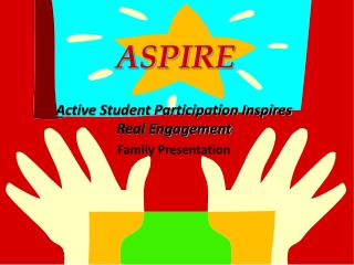 ASPIRE Active Student Participation Inspires Real Engagement Family Presentation