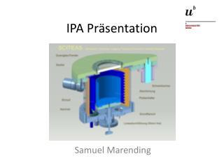 IPA Pr�sentation