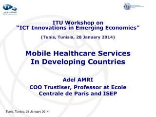 Mobile Healthcare Services In Developing Countries