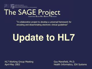 Update to HL7