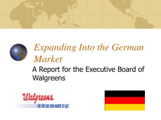 Expanding Into the German Market