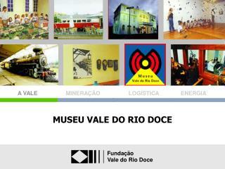 MUSEU VALE DO RIO DOCE