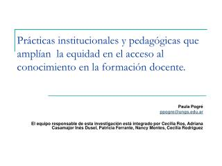 Paula Pogré  ppogre@ungs.ar
