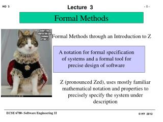 Formal Methods through an Introduction to Z