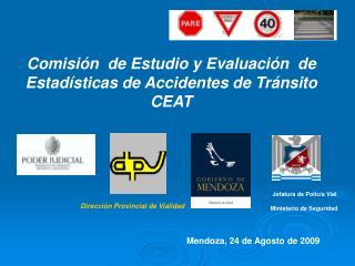Comisión  de Estudio y Evaluación  de Estadísticas de Accidentes de Tránsito CEAT
