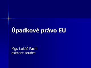 Úpadkové právo EU