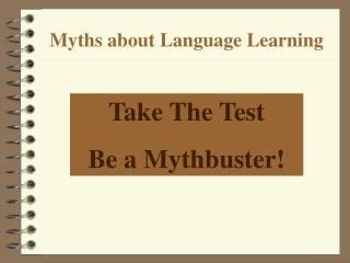 Myths about Language Learning