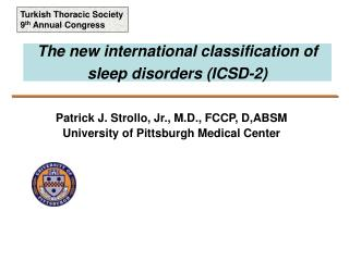 The new international classification of sleep disorders (ICSD-2)