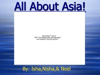 All About Asia!
