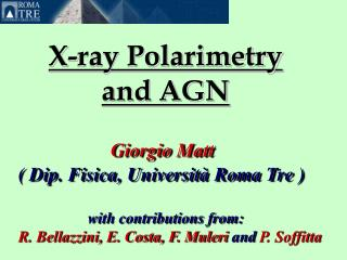 X-ray Polarimetry  and AGN
