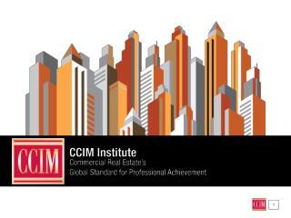 What is  CCIM INSTITUTE ?