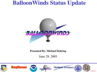 BalloonWinds Status Update