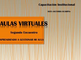 Capacitación Institucional