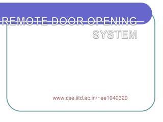Website:  cse.iitd.ac/~ee1040329