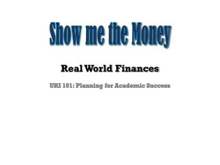 Real World Finances